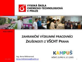 vscht.cz