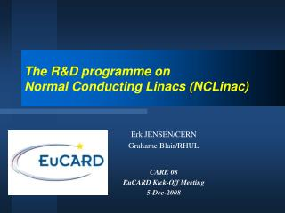 The R&D  programme  on Normal Conducting Linacs (NCLinac)