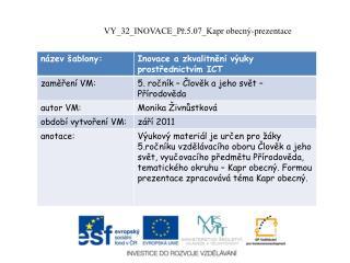 VY_32_INOVACE_Př.5.07_Kapr obecný-prezentace