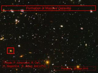 Formation  of  Massive Galaxies