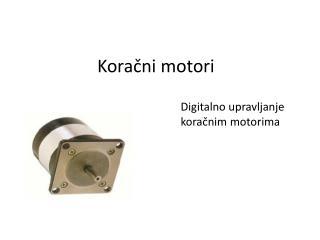 Koračni  motori