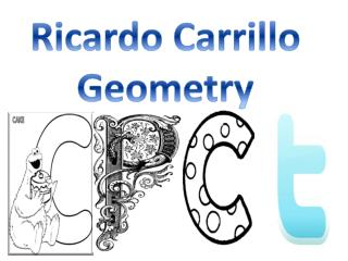 Ricardo Carrillo Geometry