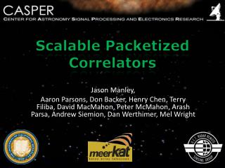 Scalable Packetized Correlators
