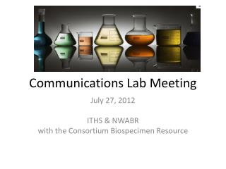 Communications Lab Meeting