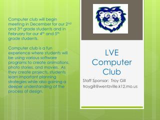 LVE Computer Club