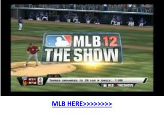 Texas vs Seattle live MLB Baseball TV 2012