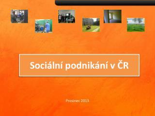 Sociální podnikání v ČR