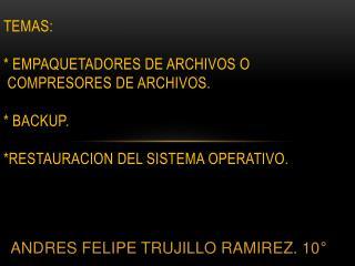 ANDRES FELIPE TRUJILLO RAMIREZ. 10°