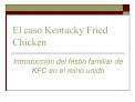 El caso Kentucky Fried Chicken