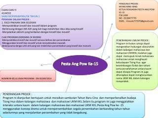 Pesta Ang Pow  Ke-15