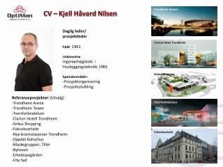CV – Kjell Håvard Nilsen