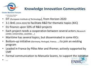 Knowledge  Innovation  Communities