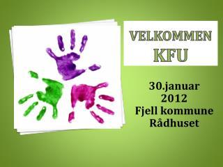 Velkommen KFU
