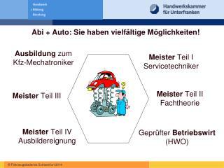 Abi + Auto: Sie haben vielfältige Möglichkeiten!