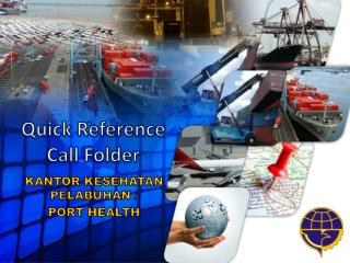 Quick Reference Call Folder