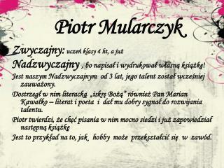 Piotr Mularczyk