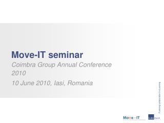 Move-IT  seminar