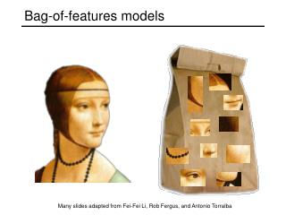 Bag-of-features models