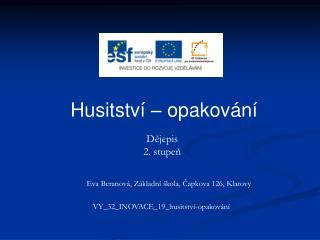 VY_32_INOVACE_19_husitství-opakování