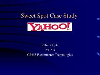 Sweet Spot Case Study