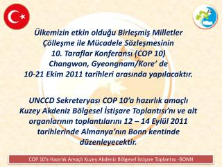 COP 10 Haz%C4%B1rl%C4%B1k Toplant%C4%B1s%C4%B1 BONN