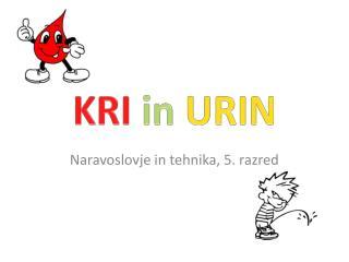 KRI  in  URIN