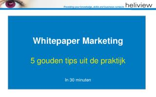 Whitepaper Marketing