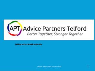 Building services through partnership