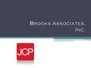 B rooks Associates, Inc.
