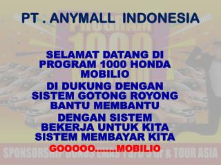 PT . ANYMALL  INDONESIA