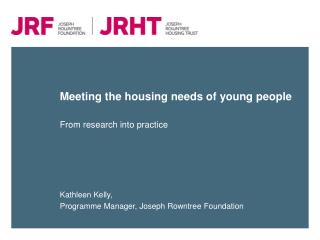 Meeting the housing needs of young people