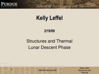 Kelly Leffel 2/19/09