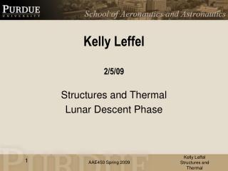 Kelly Leffel 2/5/09