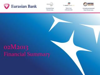 02M 2 013 Financial Summary