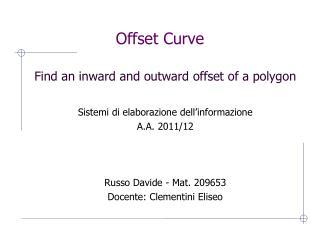 Offset Curve