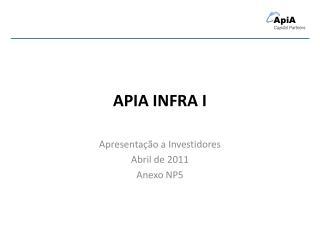 APIA INFRA I