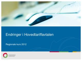 Endringer i Hovedtariffavtalen