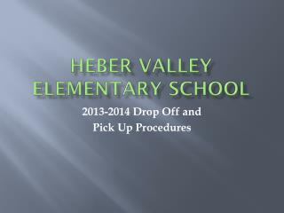 Heber Valley Elementary School