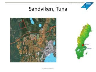 Sandviken, Tuna
