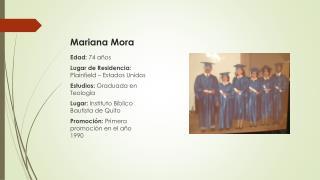 Mariana Mora