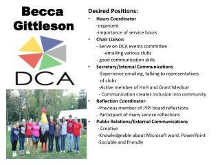 Becca Gittleson