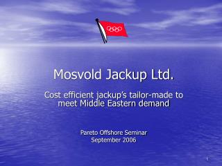 Mosvold Jackup Ltd.