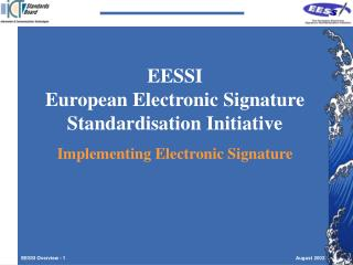 EESSI Overview - 1