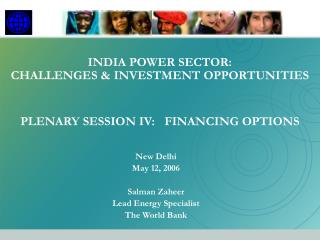 INDIA POWER SECTOR: CHALLENGES  INVESTMENT OPPORTUNITIES