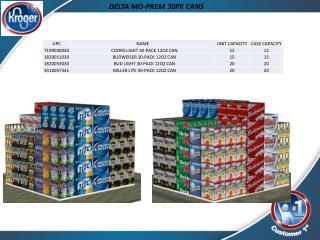 DELTA MO-PREM 30PK CANS