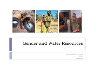 Gender and Water Resources