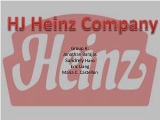 Group A: Jonathan Barajas Sandrely Haro Eric Liang Maria C. Castellon