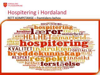 Hospitering  i Hordaland