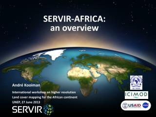 SERVIR-AFRICA: an overview