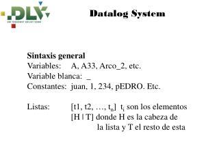Datalog System